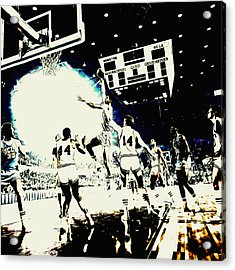 Kareem Skyhook Acrylic Print by Brian Reaves