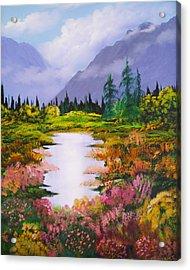 Karen's Meadow Acrylic Print
