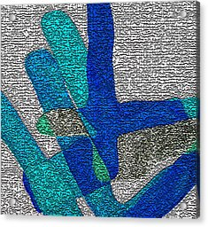 Karlheinz Stockhausen Tribute Falling Shapes Digital One Acrylic Print
