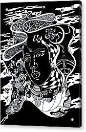 Karma Acrylic Print by Yelena Tylkina