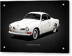 Karmann Ghia Acrylic Print