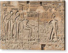 Karnak Temple - Egypt Acrylic Print by Joana Kruse