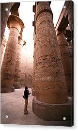 Karnak Temple Acrylic Print