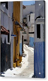 Kasbah Of The Udayas Acrylic Print by Peter Verdnik