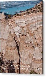 Kasha-katuwe Tent Rocks Acrylic Print