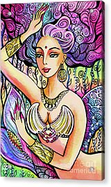 Mermaid Mudra Acrylic Print