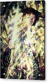 Kat Glows Acrylic Print by Leigh Odom