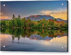 Katahdin Reflections Acrylic Print