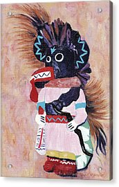 Katchina Acrylic Print by Suzanne  Marie Leclair