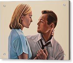 Kate Winslet And Leonardo Dicaprio Acrylic Print by Paul Meijering