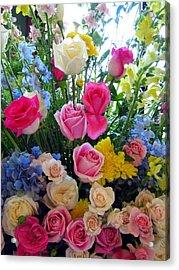 Kate's Flowers Acrylic Print