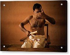 Kathakali Conductor Acrylic Print