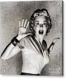 Kathleen Hughes In It Came From Outer Space Acrylic Print