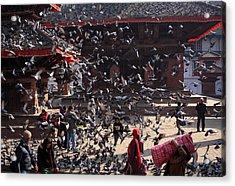 Durbar Square, Kathmandu, Nepal Acrylic Print