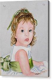 Kathryn - Commissioned Portrait Acrylic Print