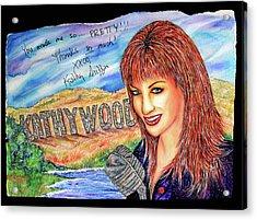 Kathywood Acrylic Print