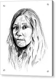 Kato Woman Acrylic Print
