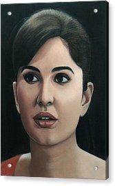 Katrina Kaif Acrylic Print
