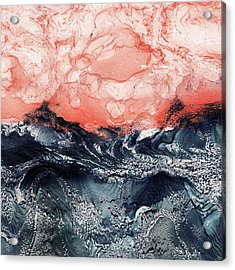 Katrina Acrylic Print by Paul Tokarski