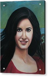 Katrina - The Beauty Of India Acrylic Print