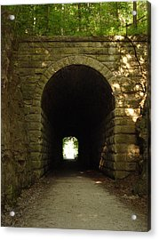 Katy Trail State Park Tunnel Acrylic Print