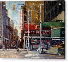 Katz's Delicatessen, New York City Acrylic Print