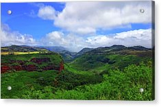 Kauai Mountains Acrylic Print