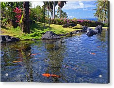 Kauai Serenity Acrylic Print by Marie Hicks