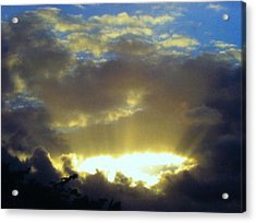 Kaua'i Sunset Acrylic Print by Alohi Fujimoto