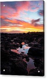 Kauai Sunset Acrylic Print by Hudson Marsh