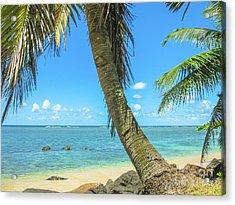 Kauai Tropical Beach Acrylic Print