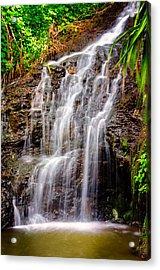 Kauai Water Cascade Acrylic Print