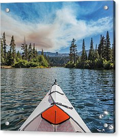 Kayak Views Acrylic Print