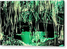 Acrylic Print featuring the photograph Kayaking At Bothell Washington by Eddie Eastwood