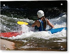 Kayaking The Brule Acrylic Print