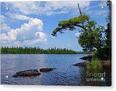 Kayaking Tom Lake Acrylic Print