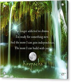 Kaypacha - November 10, 2016 Acrylic Print