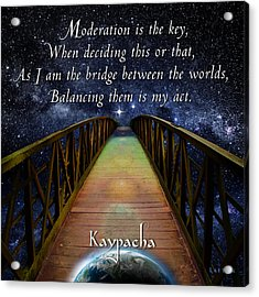 Kaypacha's Mantra 3.16.2016 Acrylic Print