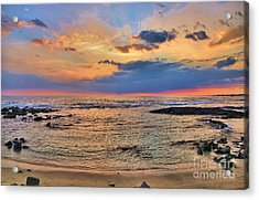 Acrylic Print featuring the photograph Keahuolu Point by DJ Florek