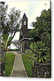 Keawala'i Congregational Church Acrylic Print by Jo Sheehan