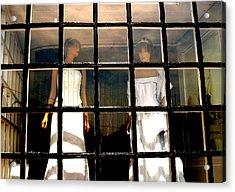 Keep Us Caged Acrylic Print by Jez C Self