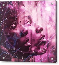 Keep Your Head To The Sky Acrylic Print
