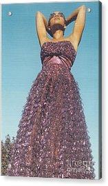 Keep Your Head Up Acrylic Print by Mia Alexander