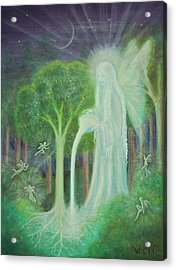 Keeper Of The Trees Acrylic Print