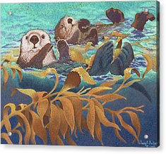 Keepers Of The Kelp Acrylic Print