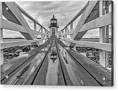 Keeper's Walkway At Marshall Point Acrylic Print