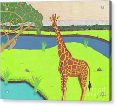 Keeping A Lookout Acrylic Print