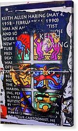 Keith Haring  Acrylic Print