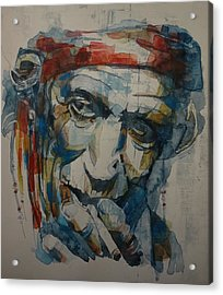 Keith Richards Art Acrylic Print