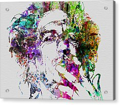 Keith Richards Acrylic Print by Naxart Studio